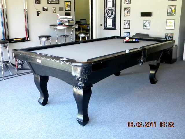 Etonnant We Also Specialize In The RAIDER Pool Table For All The Raider Fans Out  There!!